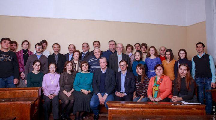 коллектив лаборатории в 2016 году